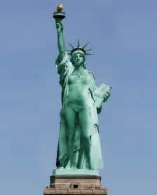 what was the original color of the statue of liberty statue of liberty original design by fr 233 d 233 ric bartholdi