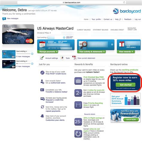 Register Mastercard Gift Card For Online Purchases - us airways mastercard online bill pay best business cards
