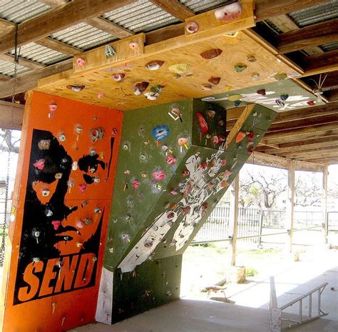 1000 ideas about home climbing wall on