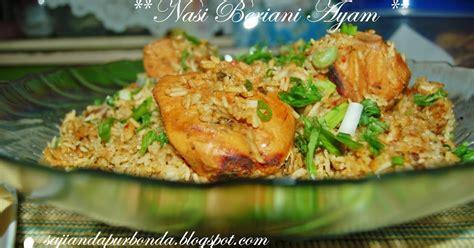 cara membuat nasi uduk beserta lauknya nasi beriani ayam tips resep cara membuat