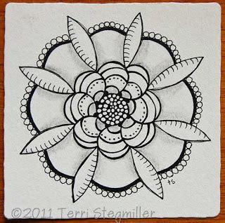 banar designs zentangle weekly challenge 15 curves terri stegmiller art and design zentangle challenge 15