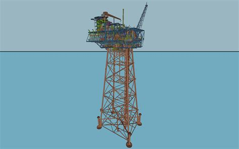 offshore jacket design exle marlin platform project in progress offshore platforms