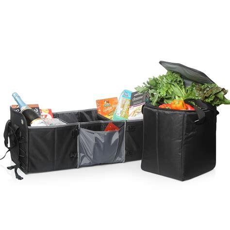 Sale Cooler Storage Bag Car Tas Gantung Auto Back Seat Car car boot organiser w removable insulated cooler