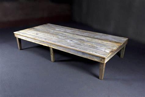 custom reclaimed barn wood coffee table by heirloom llc
