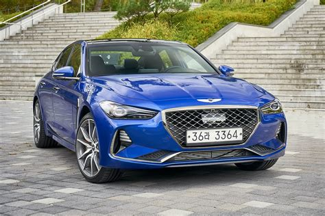 genesis g70 2018 review carsguide