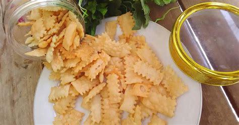 resep keripik pangsit enak  sederhana cookpad
