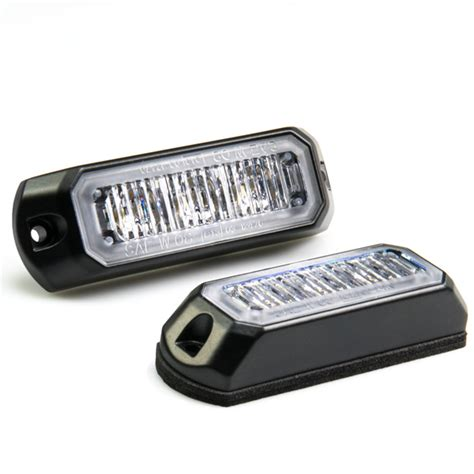 Led Flash Light Strobo vehicle led mini strobe light w built in controller 3 watt surface mount led strobe