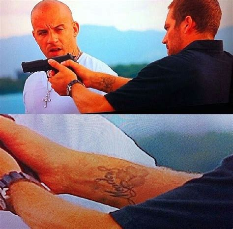 paul walker tattoos 1000 images about paul walker and vin diesel on