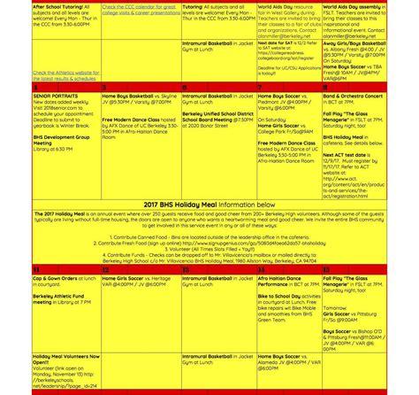 Berkeley Calendar Uc Berkeley Academic Calendar Holidays Lifehacked1st