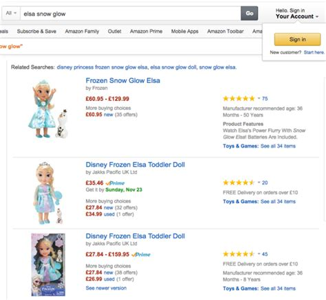 my friend cayla tesco toys from ppc results to landing pages