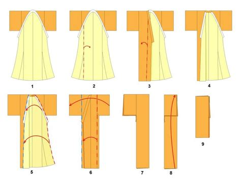 Origami Clothes Folding - 139 best images about origami on money dollar