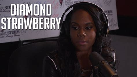 what happened to diamond strawberry diamond strawberry talks daughter dog reference says