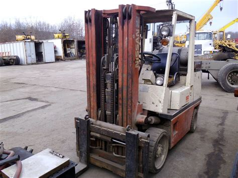 nissan 80 forklift for sale by arthur trovei sons used