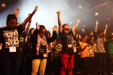 Higher Calling kccc students flood higher calling 2014 site with prayer