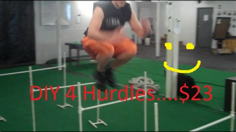 how to your to jump hurdles how to make hurdles jumping agility mobility for cheap