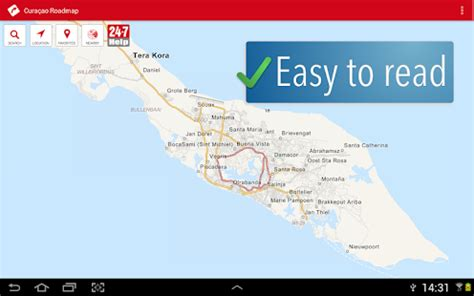 printable curacao road map download curacao roadmap offline map apk download