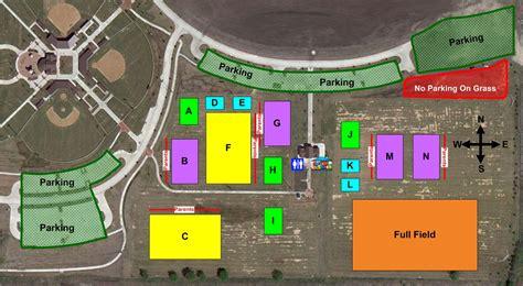 texas field map texas soccer fields frontier park prosper tx field details