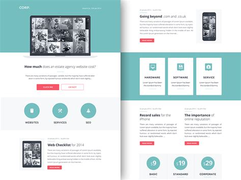Newsletter Outline Template by Rocketway Email Templates Sketch Freebie Free