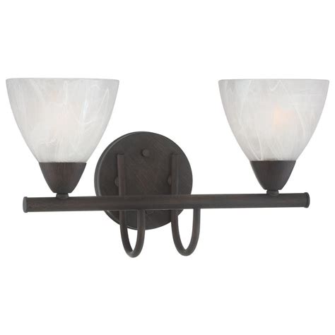 bathroom light fixture home depot thomas lighting tia 2 light painted bronze bath fixture