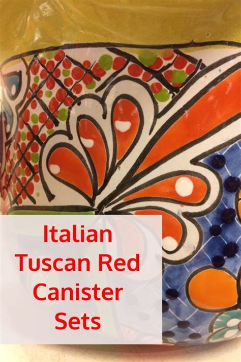 italian style kitchen canisters best 25 red canisters ideas on pinterest red kitchen