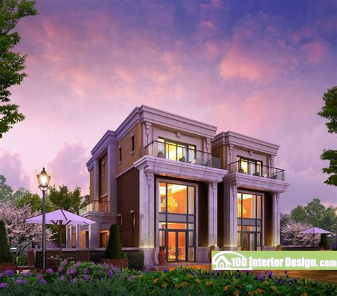 exterior home design styles defined villas style house plans plan modern style villa design exterior renderings