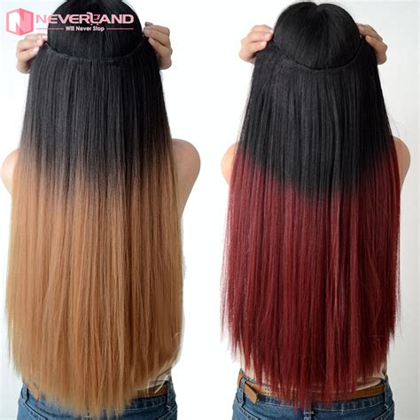 long gigi hair extensions hot 24 quot in 60cm long dip dye ombre hair weft clip in