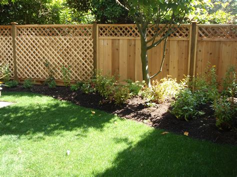 Wood Garden Fencing Ideas Jbeedesigns Outdoor Garden Wood Fence Ideas For Backyard