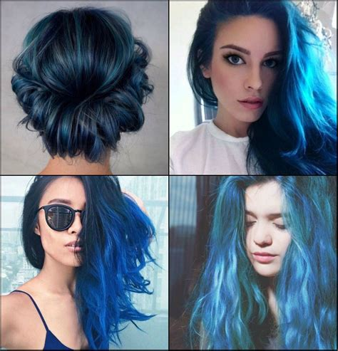 hairstyles colours 2017 sea and sky blue hair color 2017 you will adore 2017