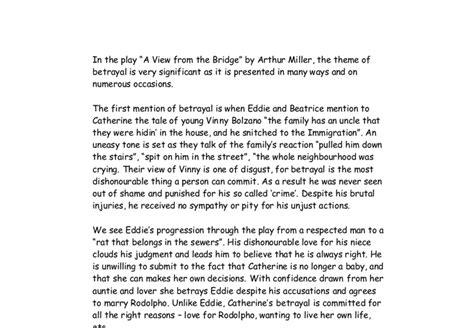 Betrayal Essays by College Essays College Application Essays Betrayal Essay