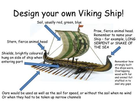 parts of a boat ks2 viking longboat building plans