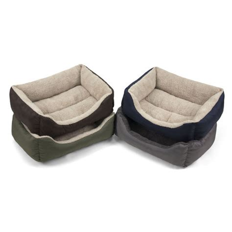 walmart pet beds soft spot lounger pet bed 21 quot wx17 quot d walmart com