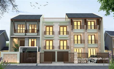 desain rumah kos dan rumah tinggal di jakarta timur studio desain rumah jakarta