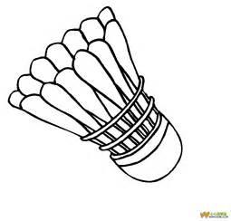 打羽毛球的简笔画 打羽毛球的简笔画画法