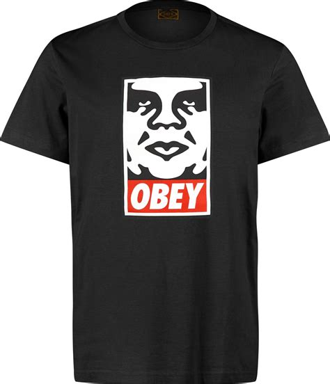 Tshirt Tshirt Obey obey icon t shirt black