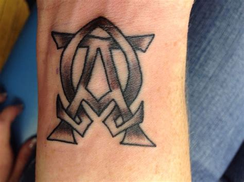alpha omega tattoo alpha and omega beginning and end