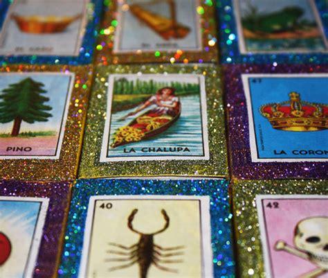 Original Authentic La Mer Guarantee 31 mexican wedding favors loteria glitter matchboxes crafts