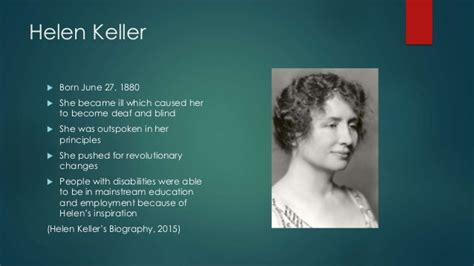 biography of helen keller in short becky knutson helen keller body ethics