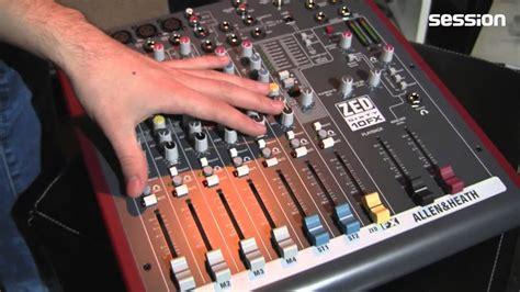 Mixer Allen Heath Zed 10fx allen heath zed60 10fx multipurpose mixer