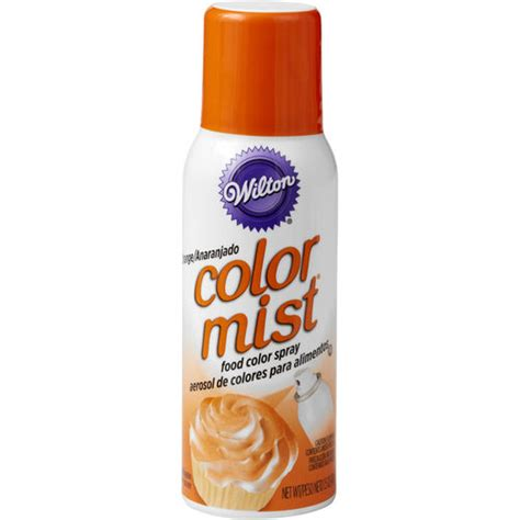 wilton color mist color mist orange food coloring spray wilton
