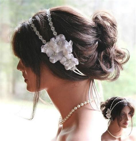 hairstyles with ribbon headband 17 best images about 2015 wedding hair bridal trending