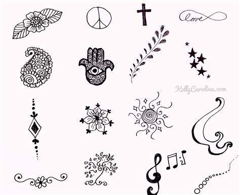 henna tattoo stencils free simple henna design archives caroline henna