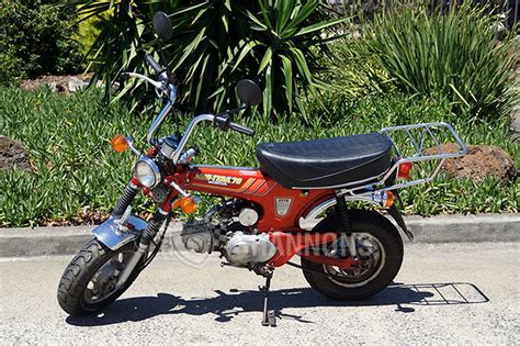 honda 70 trail bike sold honda ct70 70cc mini trail bike auctions lot 13
