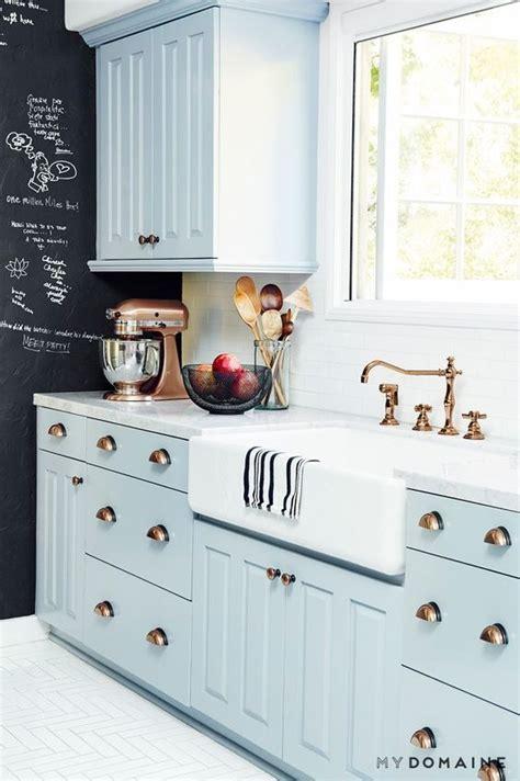 pale blue kitchen cabinets 23 gorgeous blue kitchen cabinet ideas