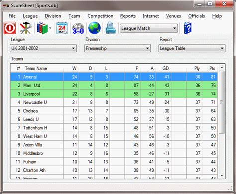 Office Football Pool Manager Software Filegets Scoresheet Screenshot Developed Specifically