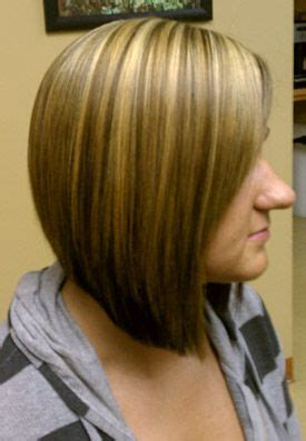 can i put an a line bob in a ponytail a line bob haircut love color and cut