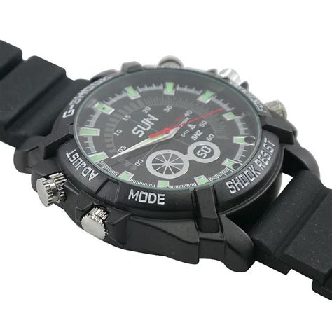 designboom watch new exquisite 8 gb ir night vision hd spy camera watch