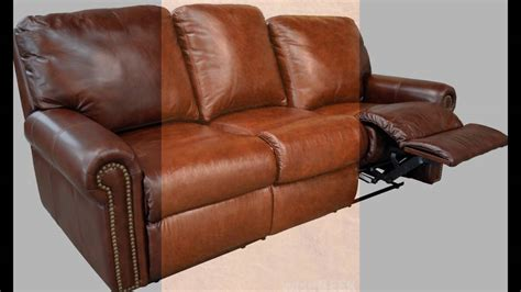 full grain leather recliner full grain leather recliner youtube