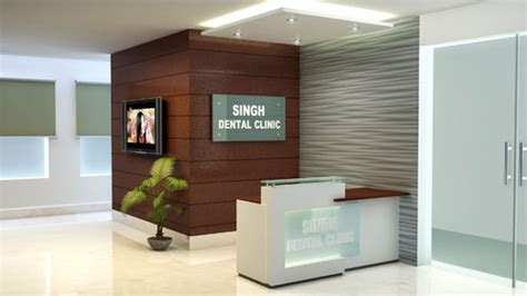 interior decor ghaziabad interior designer dental clinic room in vaishali sector 3