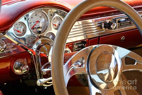 vintage car upholstery classic car interior photograph by mariusz blach