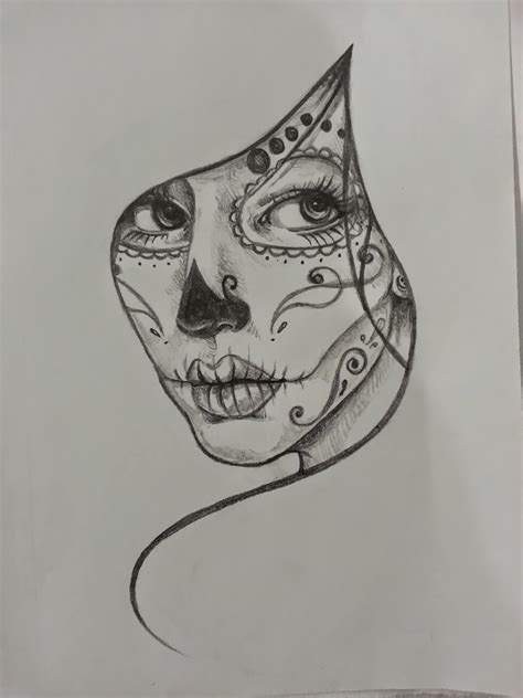 sugar skull woman tattoo designs yer a blizzard harry alive